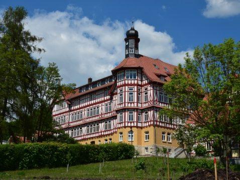 Die Schulfassade