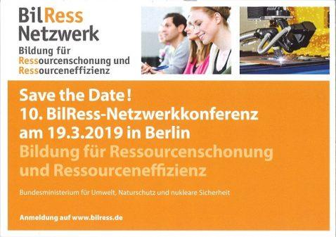 10. BilRess-Netzwerktagung